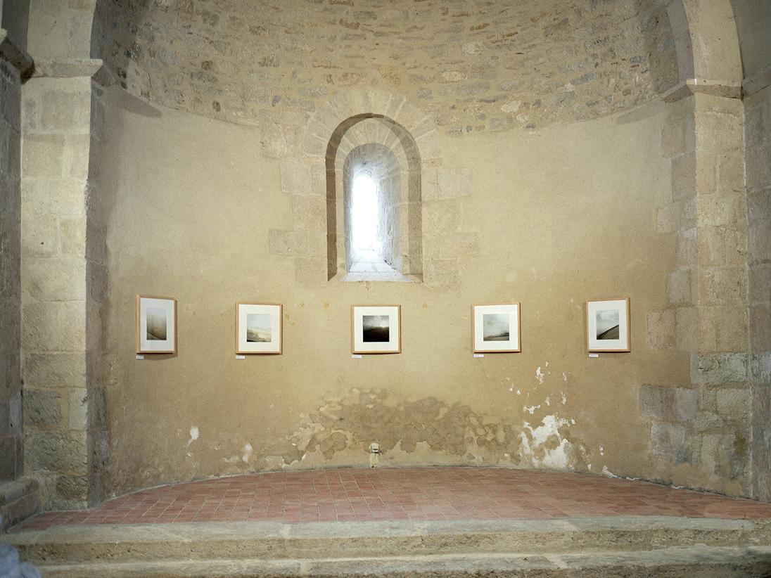 Hierogamos installation view Eglise de Pondaurat, Sud-Gironde, France 2006