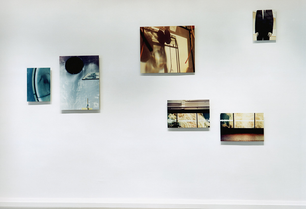 the fremd installation view Musee de la Photographie, Nice 2001