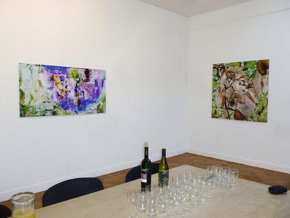 somnambule flowers installation view van Kranendonk Gallery 2015 f