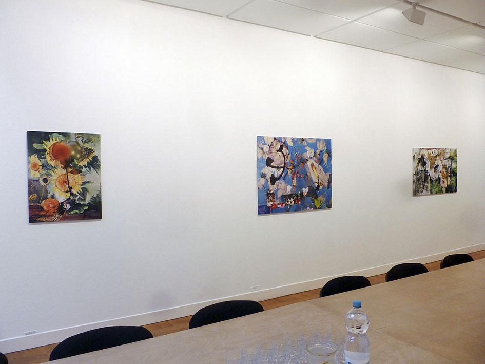 somnambule flowers installation view van Kranendonk Gallery 2015 e