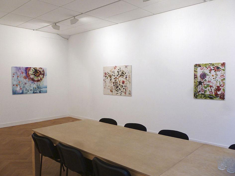 somnambule flowers installation view van Kranendonk Gallery 2015 c