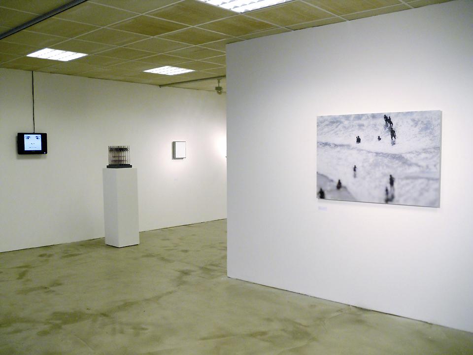 Die Farbe Weiss installation view Gallery Obrist, Essen 2010