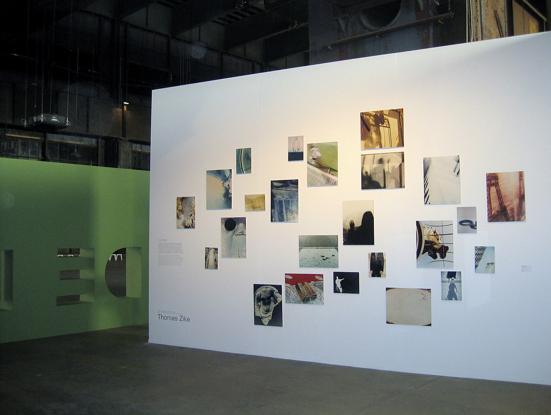 the fremd installation view PROGRAMME MOSAIQUE, CNA Luxemburg 2007