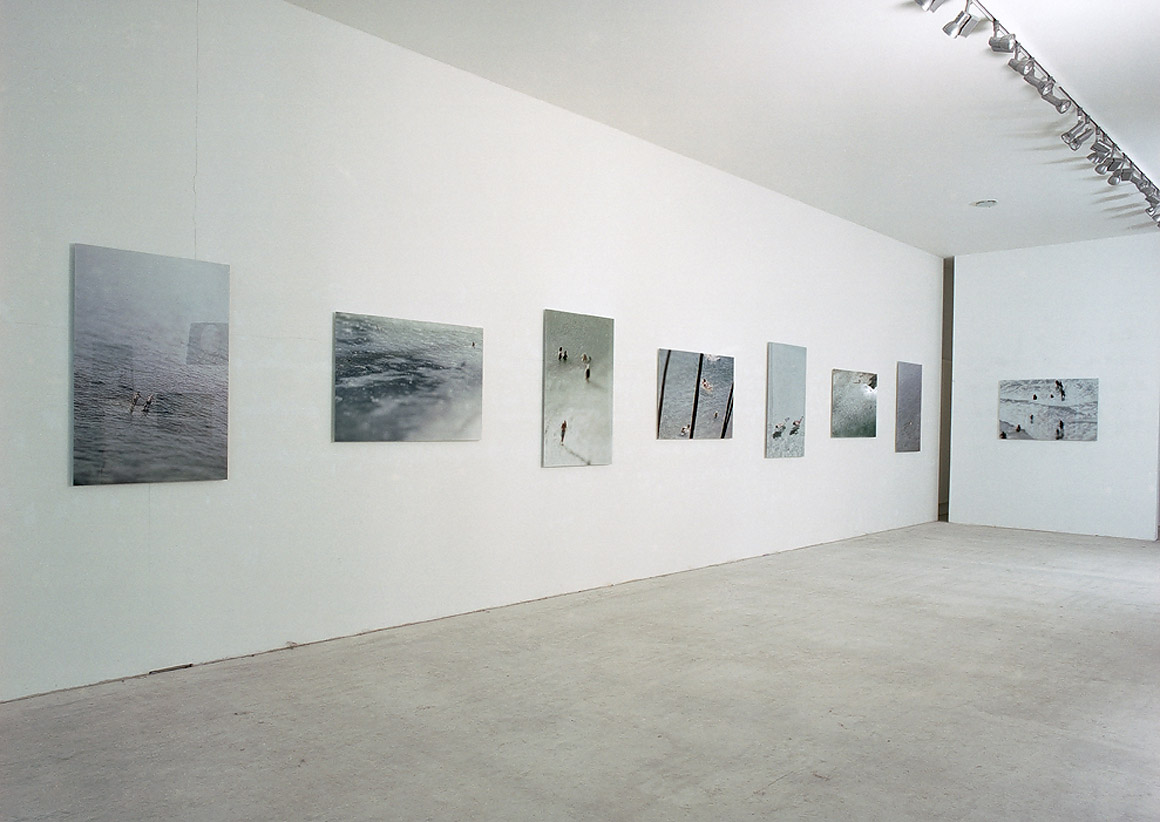 bathers installation view Institute for Applied Visual Sciences Wuppertal 2004 b